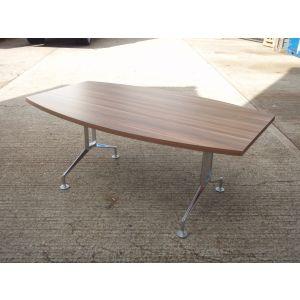 Dark Walnut 1800 x 1050 Meeting Room Table
