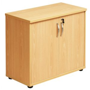 Desk High Double Door Storage Unit