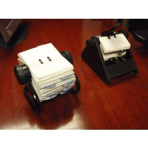 Desk Top Rotadex File
