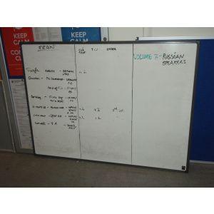 Framed White Board 1200 x 800