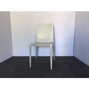 Ghost Grey Stacking Chair