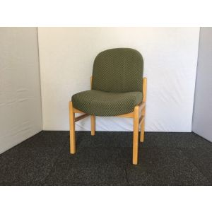Green Pattern Waiting Room Chair