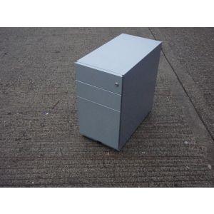 Grey Slimline Mobile Pedestal