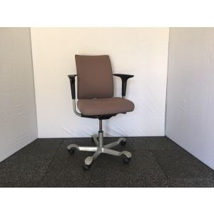 Grey Hag Operator Chair With Folding Arms