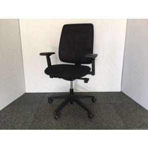 Haworth Black Operator Chair