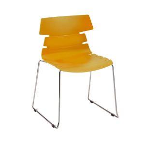 Hetton Chrome Cafe Chair