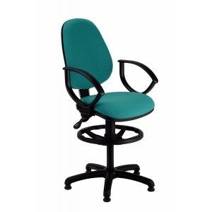 Draughtsman Chair with Fixed Arms