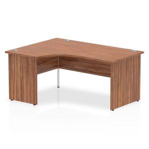 Impulse Panel End Crescent Desk