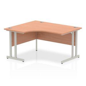 Impulse Cantilever Crescent Desk