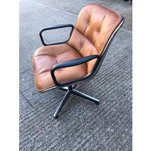 Knoll Brown Meeting Chair