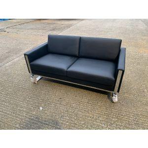 Stylish Leather Sofa & Armchair