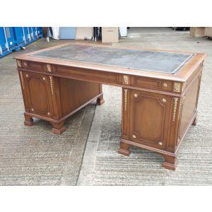 Mahogany Double Pedestal Desk