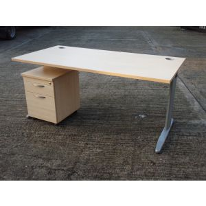 Beech or Maple 1600 x 800 Desk SALE PRICE.
