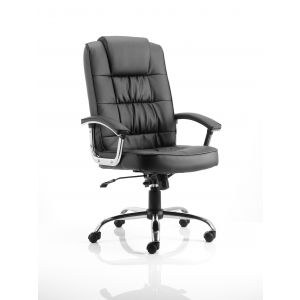 Deluxe Moore Leather Chair