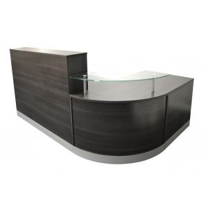 Anthracite 3 Piece Reception Desk