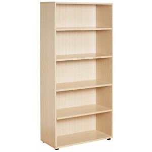 New Maple Open Bookcase