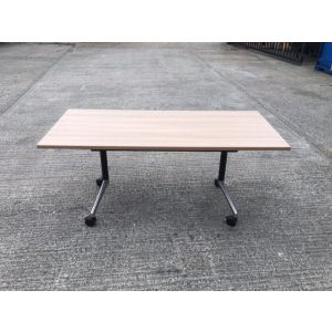 Oak Flip Top Table 1600x700