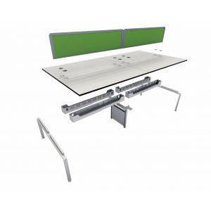 10 User 1200 Double Bench System 1600 Leg Frame