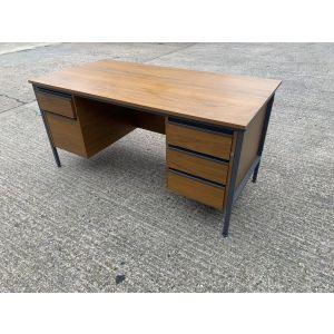 Old Double Pedestal Style Desks