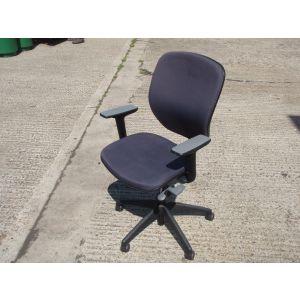 Orangebox Grey Upholstered Joy Chair