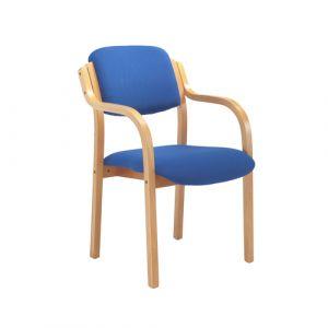 Beech Open Arm Side Chair
