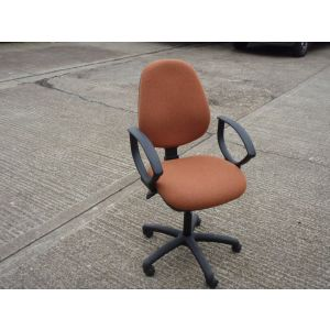 Rust Operator Chair