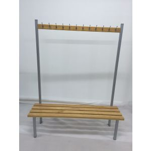 Single Island Cloakroom Bench