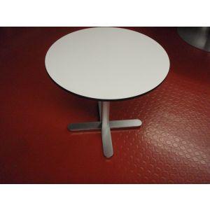 Small Circular Pedestal Base Table