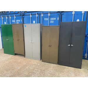 Old Style Tall Two Door Storage Units