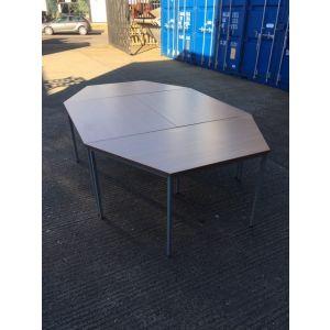 Beech Octagon Meeting Table