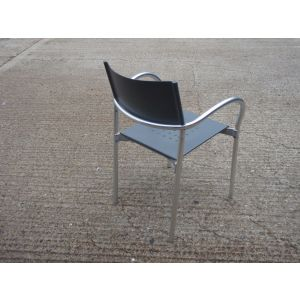 Breeze Canteen Style Chair by Carlo Bartoli
