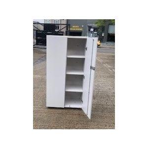 Vitra White 2 Door Storage Unit
