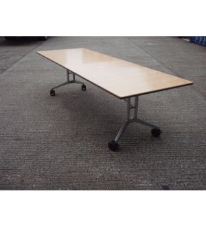 Maple Folding Wing Table 2400 x 900