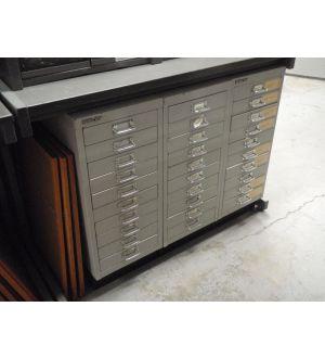 10 Drawer Letter File Units
