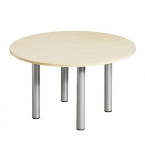 1200 Modular Leg Circular Meeting Room Table