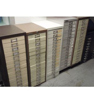 15 Drawer Letter File Units