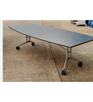 Grey Folding Wing Table 2600 x 1100