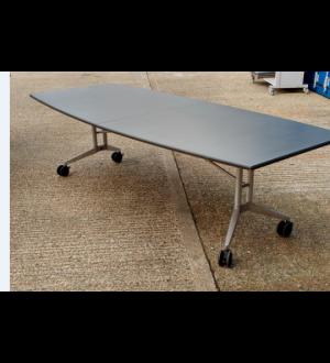 Grey Folding Wing Table 2600 x 1100