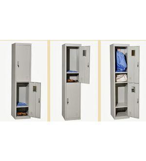 Grey Two Door Locker