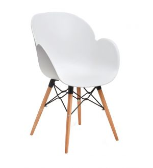 Linton Armchair on Wooden Frame