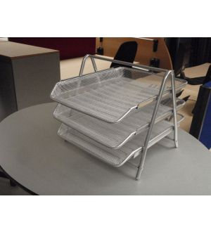 3 Tier In - out Tray