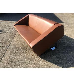 Allermuir Designer Leather Sofa