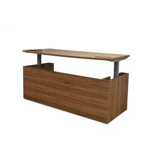 Royal Executive Bow Fronted Electric Desk