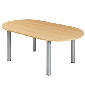 Beech 1800 x 1000 Meeting Room Tables