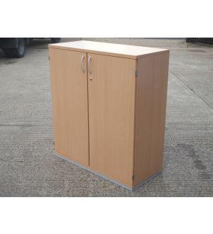 Beech 2 Door Storage Cabinet 1110 x 1000