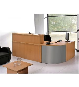 Beech 3 Part Reception Desk