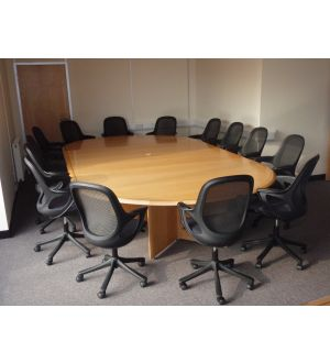 Large Bespoke Boardroom Table