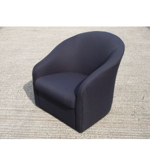 Black Tub Easy Chairs