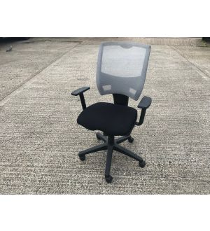 Black & Grey Operator Chair