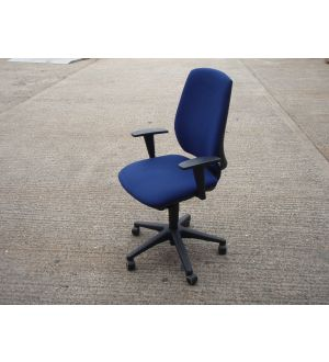 Blue Fully Functional Task Chair